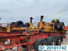 Trailer Fruehauf Skelet 20 ft tweedehands containersysteem