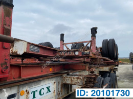 Fruehauf Skelet 20 ft semi-trailer used container