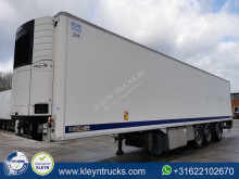 Chereau CARRIER 1950 D+E taillift steeraxle semi-trailer used mono temperature refrigerated