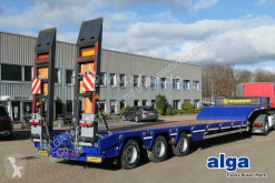 Scorpion heavy equipment transport semi-trailer Scorpion HKM3, verbreiterbar, hydr. Rampen, Luft