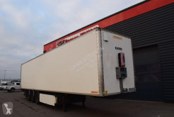 Fruehauf FOURGON RIDEAU COULISSANT + HAYON semi-trailer used box