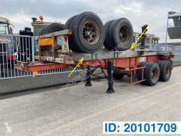 Semiremorca Skelet 20 ft transport containere second-hand