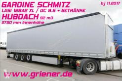 Schmitz Cargobull SCS 24 /GARDINE LASI / LIFTACHSE /HUBDACH semi-trailer used tarp