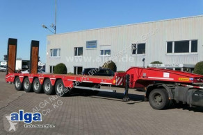 Scorpion heavy equipment transport semi-trailer SCORPION SCP5/verbreiterbar/hydr. Rampen/78 ton