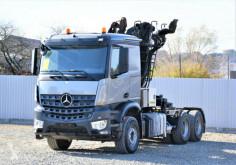 Mercedes AROCS 2851 SZM + KRAN HOLZ/SCHROTT * 6x4 ! tweedehands overige trailers