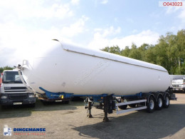 Robine Gas tank steel 50.5 m3 semi-trailer used gas tanker