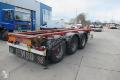 Semi remorque porte containers Turbo's Hoet Multi Chassis / 2x Extendable / BPW + Drum 2008