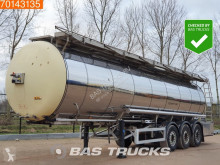 Feldbinder food tanker semi-trailer TSA 33.3 Food Tank Heating 32.500Ltr Heizung / Isoliert