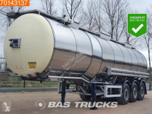 Feldbinder food tanker semi-trailer TSA 33.3-3 Food Tank Heating 32.500Ltr Heizung / Isoliert