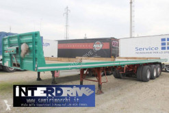 Bertoja pianale allungabile 10 gomme semi-trailer used flatbed