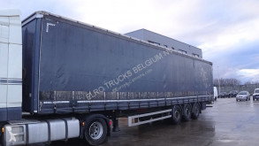 Semi remorque Kässbohrer XS (SAF AXLES / BELGIAN TRAILER IN PERFECT CONDITION) rideaux coulissants (plsc) occasion