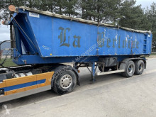 MOL tipper semi-trailer TIPPER - ISOLATED ALU TIPPER / STEEL CHASSIS --- CHASSIS ACIER / BENNE ALU ISOLEE - AIR SUSP - GOOD TIRES / BONNE PNEUS