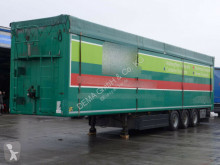 Kraker trailers CF-Z*BPW-Achsen*Lift*96m³*Bod 10mm*Rollplane* semi-trailer used moving floor
