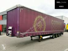 Krone tarp semi-trailer SD / Hubdach / EDSCHA / Liftache / 3,0 m Höhe