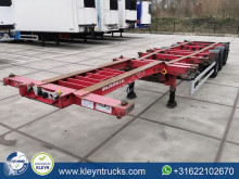 Schmitz Cargobull multi back slider semi-trailer used container