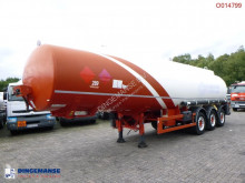 Indox Fuel tank alu 38 m3 / 6 comp semi-trailer used tanker