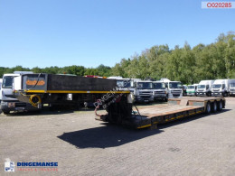 Nooteboom lowbed trailer 33 t / extendable 8.5 m semi-trailer used heavy equipment transport
