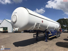 Gas tanker semi-trailer Gas tank steel 53 m3 + pump