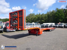 Kässbohrer 4-axle semi-lowbed trailer LB4E 63.8 T / extendable semi-trailer used flatbed