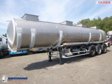 Trailer BSLT Chemical tank inox 27.8 m3 / 1 comp tweedehands tank chemicaliën