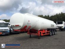 Cobo Fuel tank alu 37.6 m3 / 6 comp semi-trailer used tanker