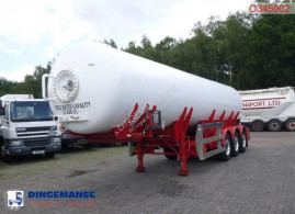 Clayton gas tanker semi-trailer Gas tank steel 31.8 m3 (low pressure 10 bar)