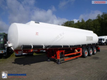 Parcisa Fuel tank alu 42.8 m3 / 6 comp semi-trailer used tanker