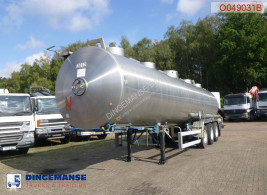 Semiremorca Magyar Chemical tank inox 32 m3 / 1 comp cisternă produse chimice second-hand