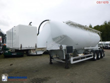 Spitzer tanker semi-trailer Powder tank alu 41 m3 + engine/compressor
