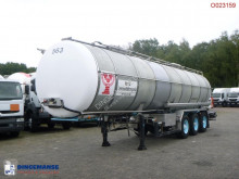 Burg food tanker semi-trailer Food tank inox 30.3 m3 / 1 comp
