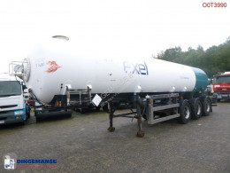 Low-pressure gas / chemical tank 27.2 m3 / 1 comp semi-trailer used gas tanker