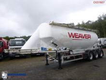 Semi reboque Feldbinder Powder tank alu 40 m3 cisterna usado