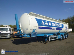 Feldbinder tanker semi-trailer Powder tank alu 60 m3 (tipping)