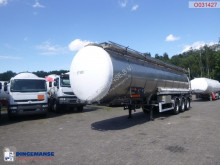 Trailer Burg Chemical tank inox 37.5 m3 / 1 comp tweedehands tank chemicaliën
