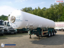 Clayton gas tanker semi-trailer Gas tank steel 34.5 m3 (low pressure 10 bar)