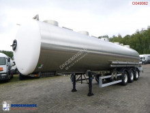 Semi remorque Magyar Chemical tank inox 34.6 m3 / 1 comp citerne produits chimiques occasion