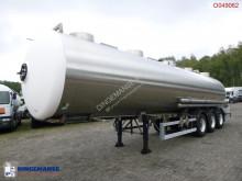 Semiremorca Magyar Chemical tank inox 34.6 m3 / 1 comp cisternă produse chimice second-hand
