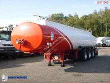 Indox Fuel tank alu 40.4 m3 / 6 comp semi-trailer used tanker