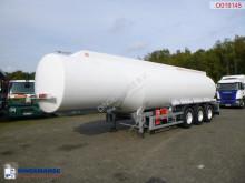 Cobo Fuel tank alu 40.2 m3 / 6 comp semi-trailer used tanker