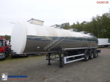 Trailer BSLT Chemical tank inox 33 m3 / 1 comp tweedehands tank chemicaliën