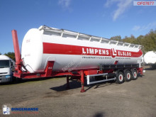 Feldbinder Powder tank alu (tipping) 63 m3 semi-trailer used tanker