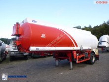 Indox Fuel tank alu 23.8 m3 / 4 comp + pump/counter semi-trailer used tanker
