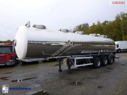 Maisonneuve Chemical tank inox 32.4 m3 / 1 comp semi-trailer used chemical tanker