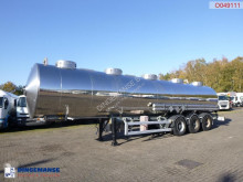 Magyar chemical tanker semi-trailer Chemical tank inox 32 m3 / 1 comp
