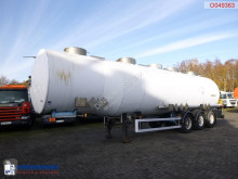Magyar Chemical tank inox 40.5 m3 / 3 comp semi-trailer used chemical tanker