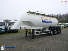 Powder tank alu 36 m3 / 1comp semi-trailer used tanker