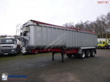 Semi remorque Montracon Tipper trailer alu 50.4 m3 + tarpaulin benne occasion
