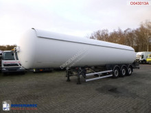Robine Gas tank steel 51.5 m3 / 1comp semi-trailer used gas tanker