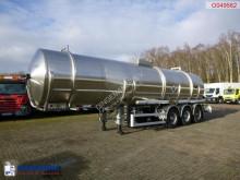 Semi reboque cisterna Magyar Jet fuel tank inox 36.4 m3 / 1 comp