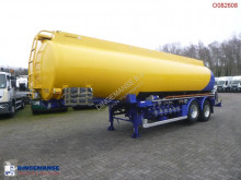 Semi remorque Caldal Fuel tank alu 29.6 m3 / 6 comp + pump/counter citerne occasion